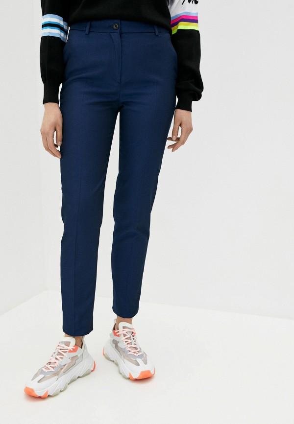 женские повседневные брюки iceberg, синие