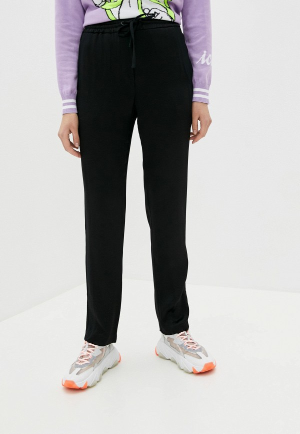 женские повседневные брюки iceberg, черные