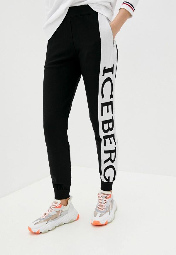 женские спортивные брюки iceberg, черные