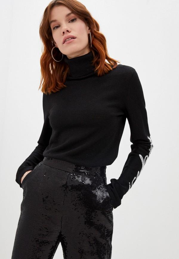 женская водолазка iceberg, черная