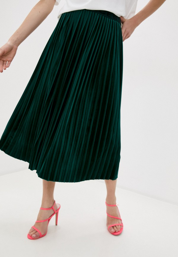 женская юбка iceberg, зеленая