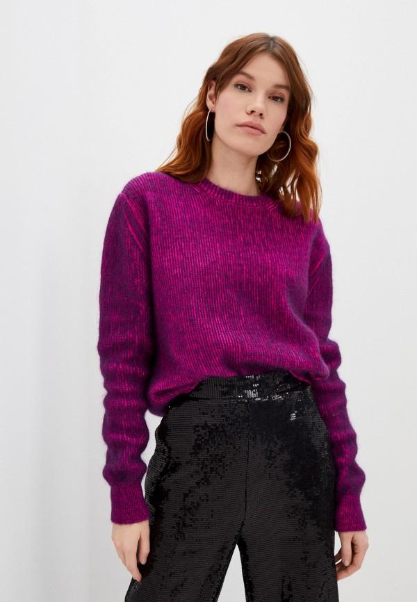 женский джемпер iceberg, фиолетовый
