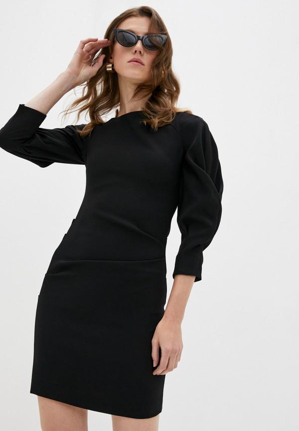 женское вечерние платье iceberg, черное