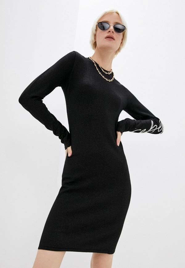 женское платье iceberg, черное