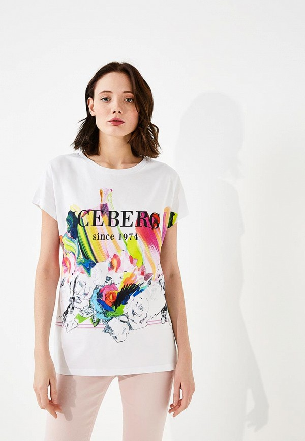 Футболка Iceberg Iceberg IC461EWZXK64 футболка iceberg