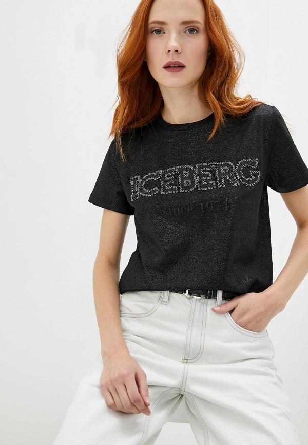 Футболка Iceberg Iceberg IC461EWZXK78 пуховик iceberg iceberg ic461embqok7