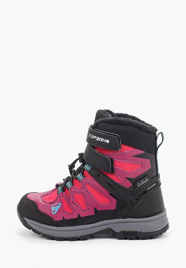 ботинки icepeak для мальчика, розовые
