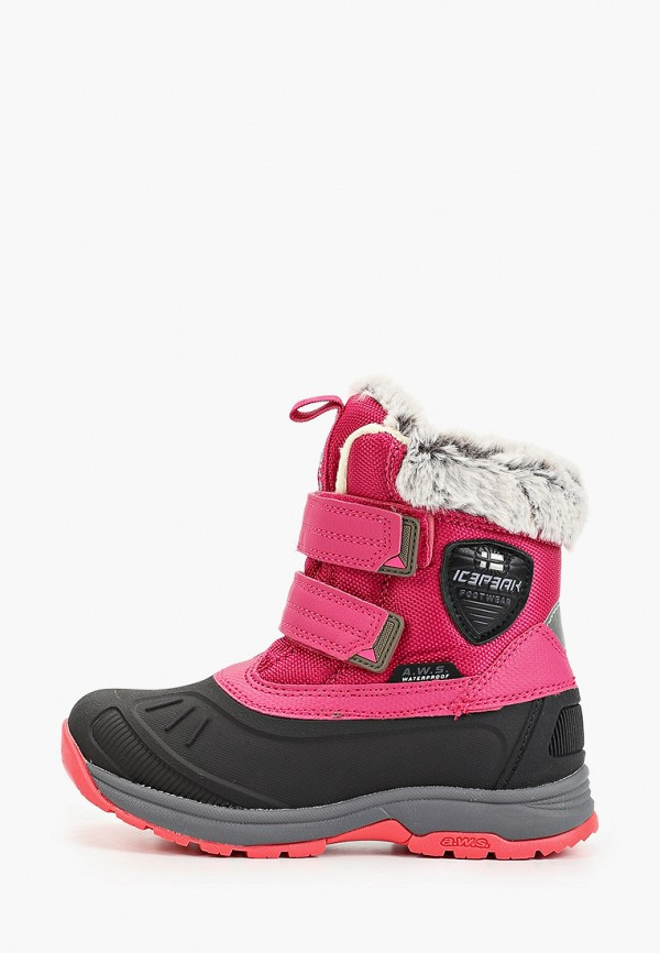 ботинки icepeak для девочки, розовые