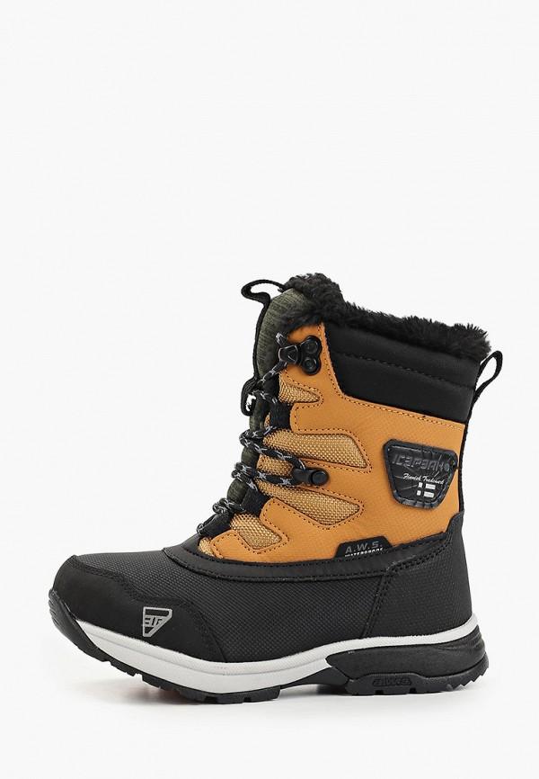 ботинки icepeak малыши, коричневые