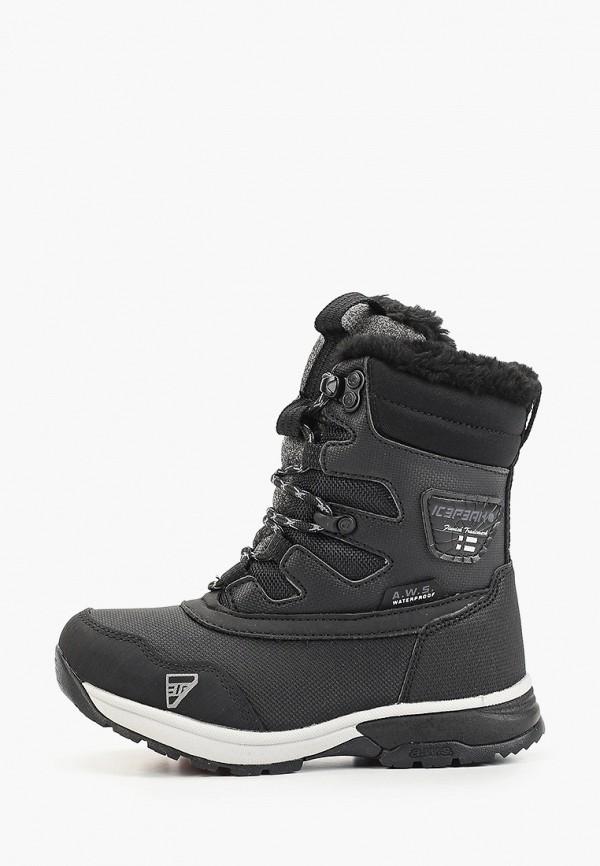 ботинки icepeak малыши, черные