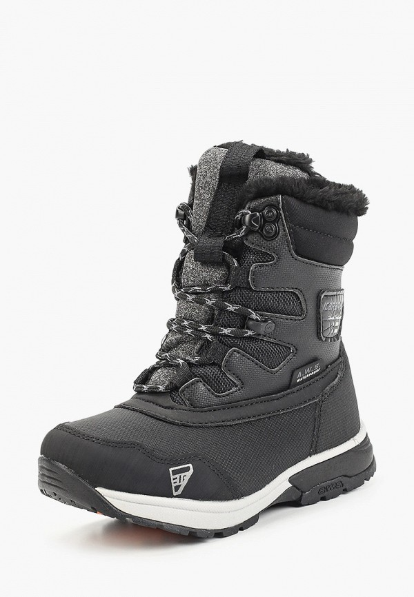 Фото 2 - Ботинки Icepeak черного цвета