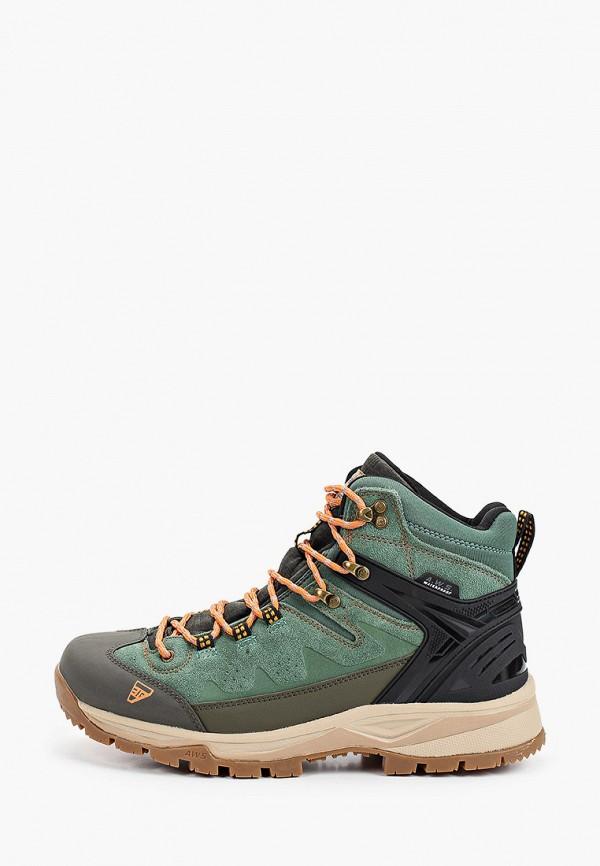 мужские ботинки icepeak, зеленые