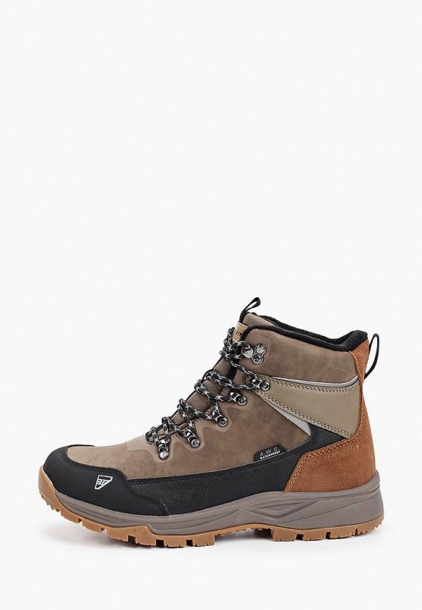 Фото - Ботинки трекинговые Icepeak коричневого цвета