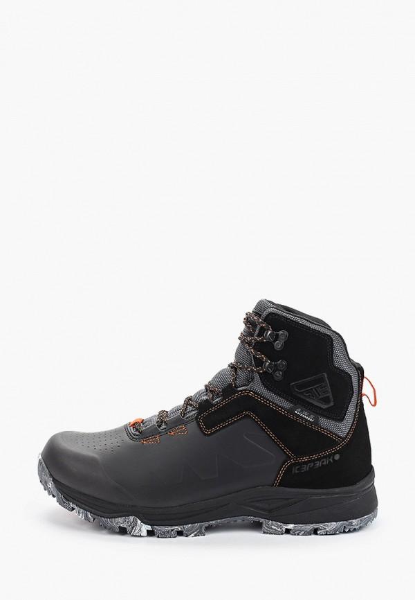 мужские ботинки icepeak, черные