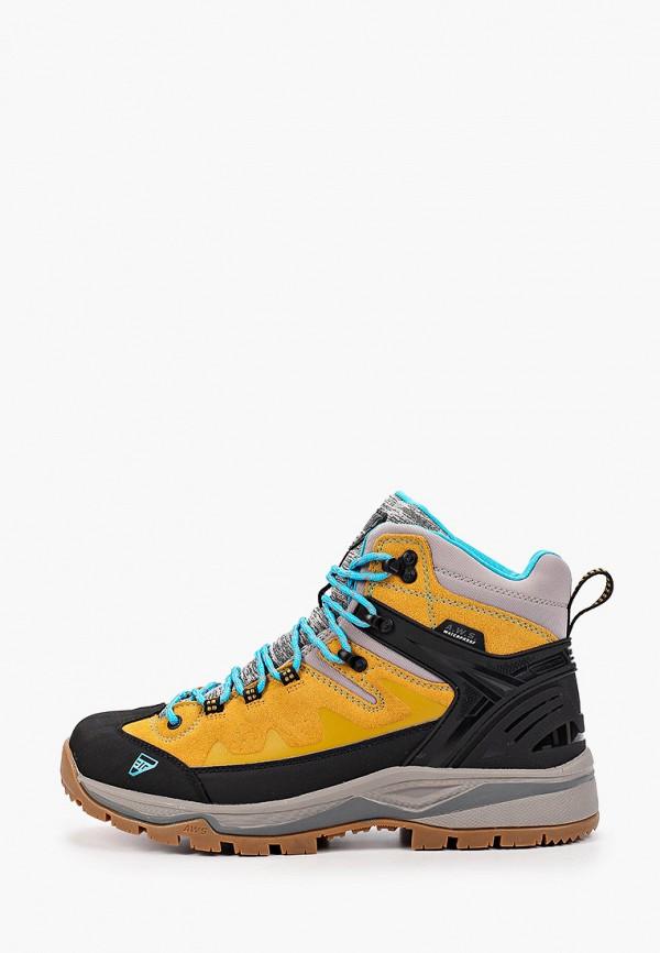 мужские ботинки icepeak, желтые