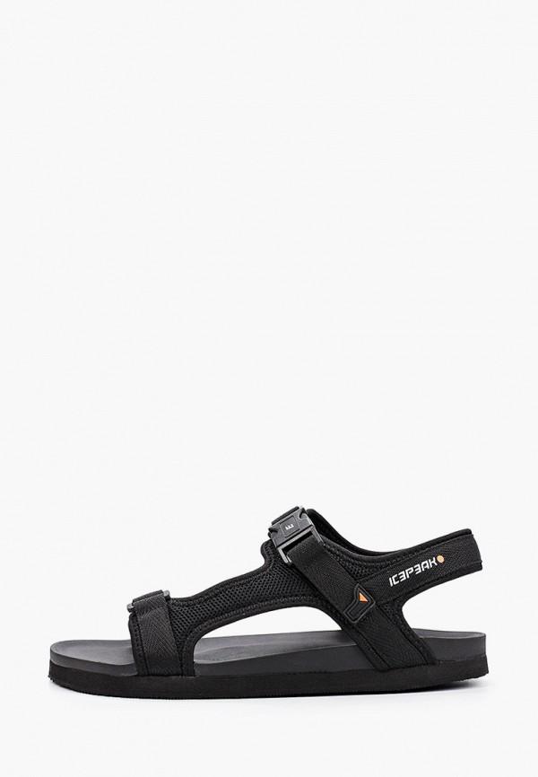 мужские сандалии icepeak, черные