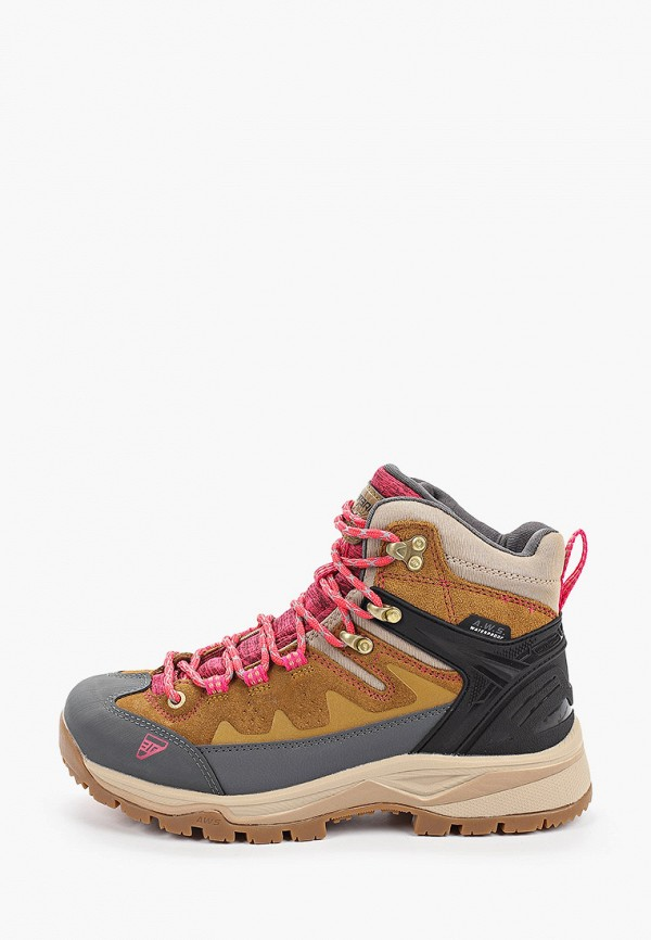 женские ботинки icepeak, коричневые