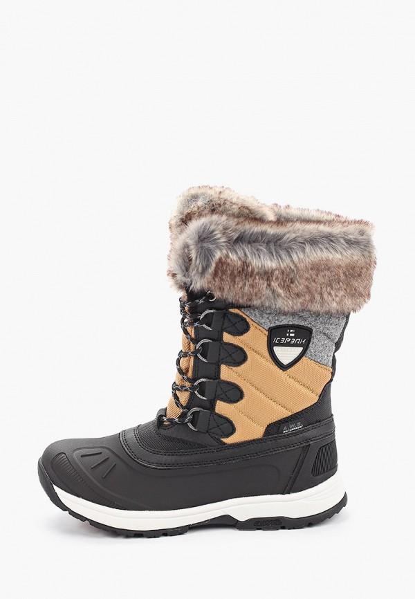 женские ботинки icepeak, черные