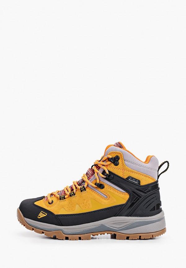 женские ботинки icepeak, желтые