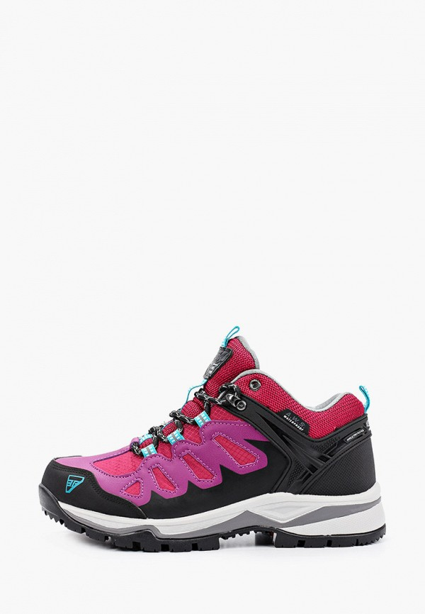 женские ботинки icepeak, розовые