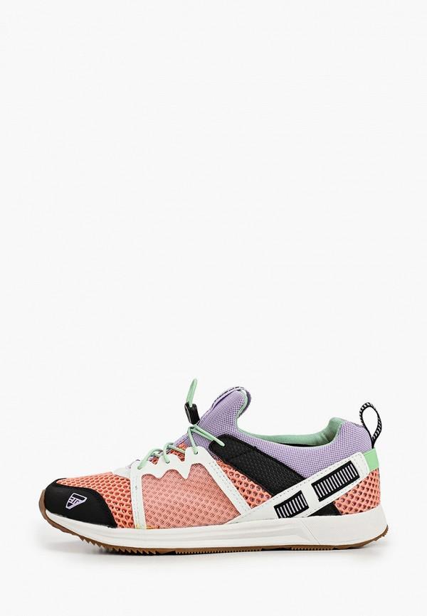 женские низкие кроссовки icepeak, розовые