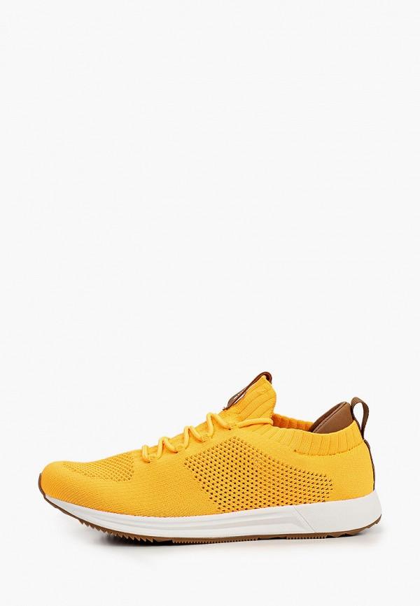 женские низкие кроссовки icepeak, желтые