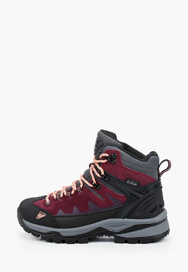 женские ботинки icepeak, бордовые