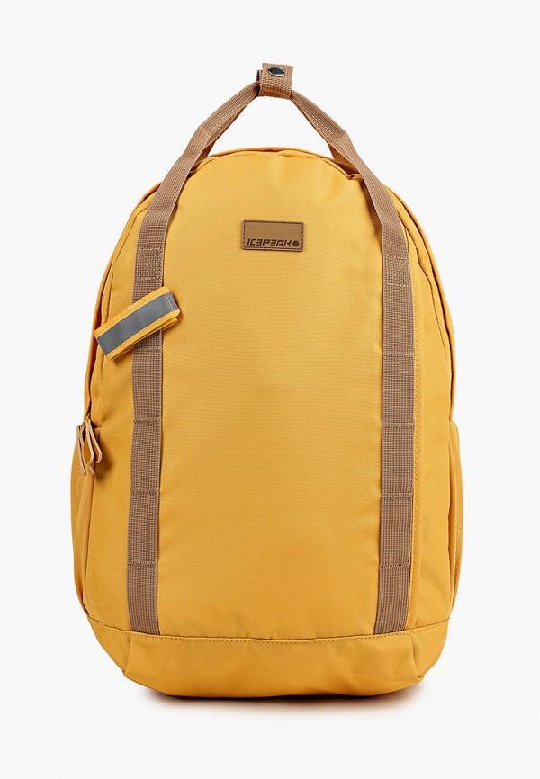 женский рюкзак icepeak, желтый