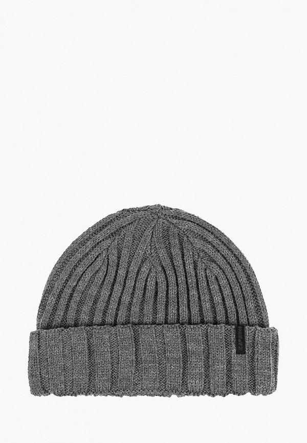 мужская шапка icepeak, серая