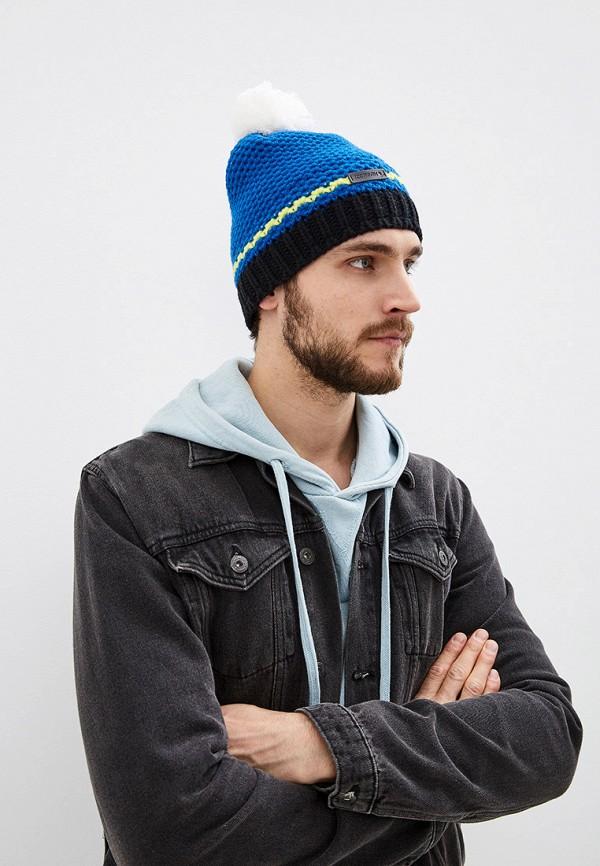 Фото 3 - Шапку Icepeak синего цвета