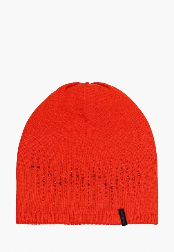 женская шапка icepeak, красная