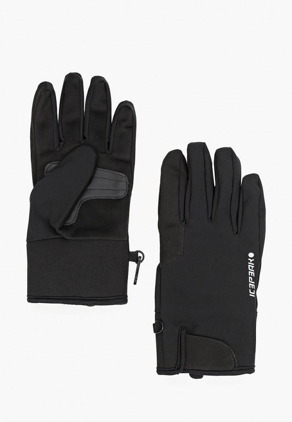 женские перчатки icepeak, черные