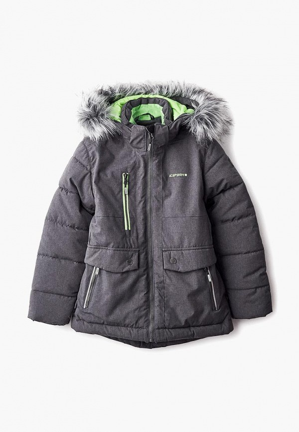 Купить Куртка утепленная Icepeak, ic647ebcogs9, серый, Осень-зима 2018/2019