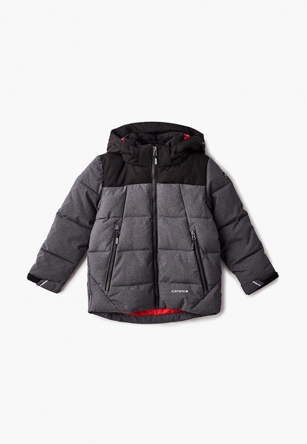 Купить Куртка утепленная Icepeak, ic647ebcogt6, серый, Осень-зима 2018/2019