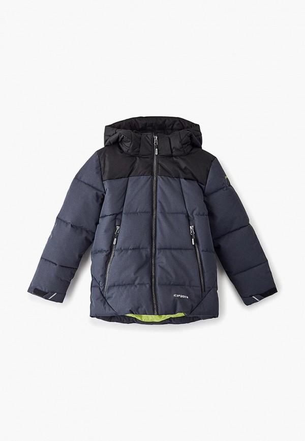 куртка icepeak для мальчика, серая