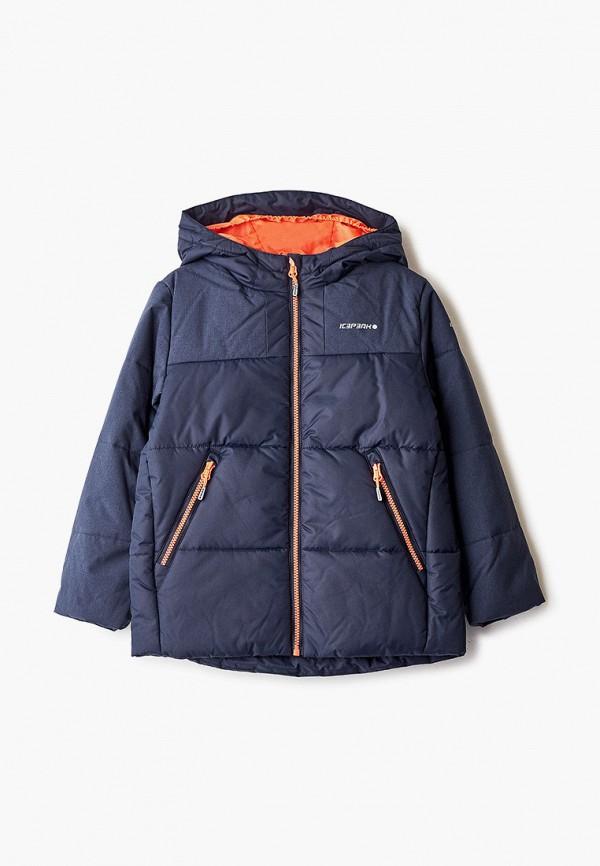куртка icepeak для мальчика, синяя