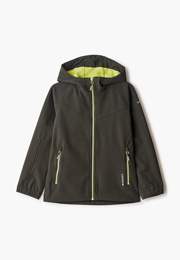 куртка icepeak для мальчика, зеленая