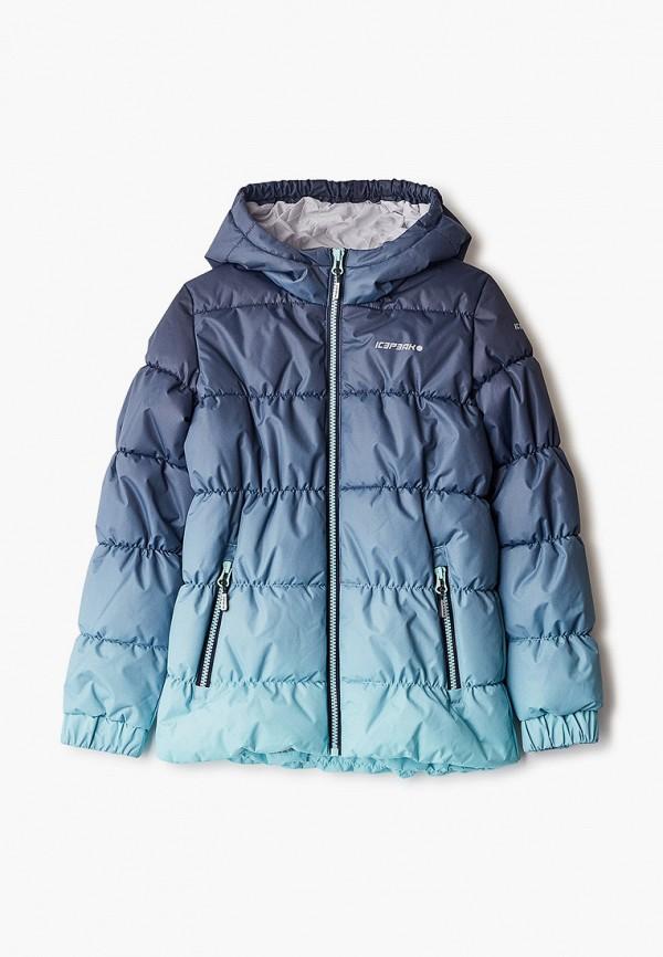 куртка icepeak для девочки, синяя
