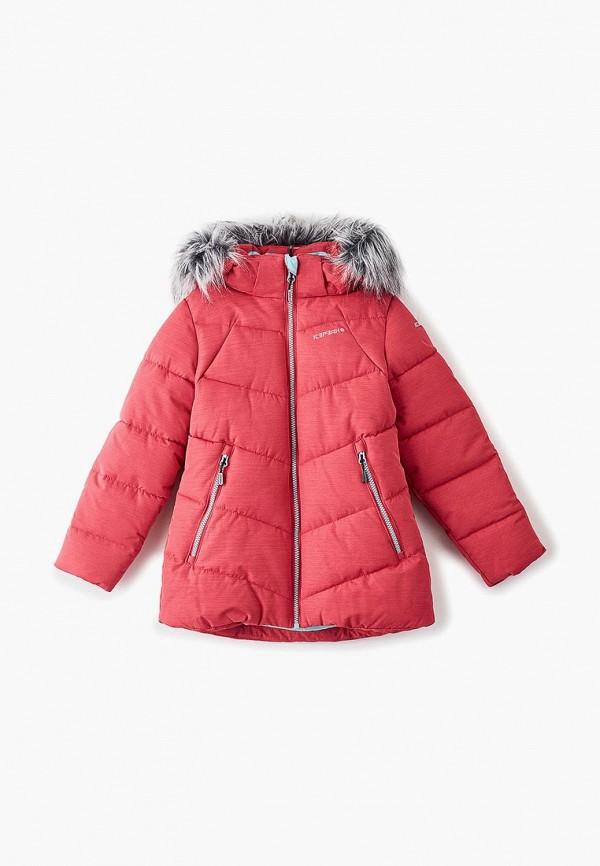 куртка icepeak для девочки, розовая