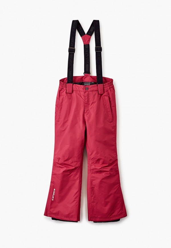 брюки icepeak для девочки, розовые