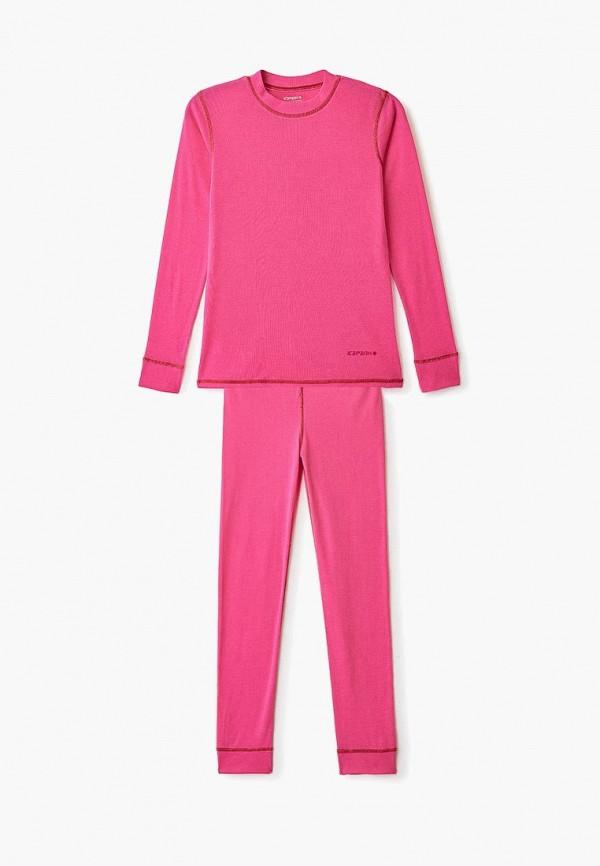 термобелье icepeak для девочки, розовое