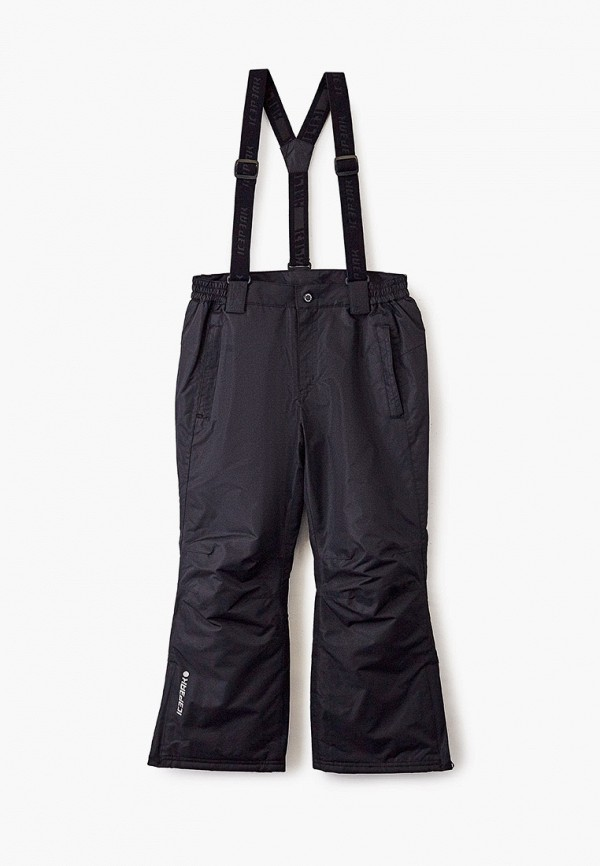 утепленные брюки icepeak малыши, черные
