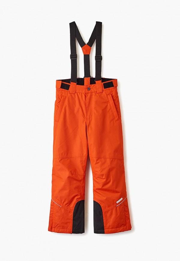 утепленные брюки icepeak малыши, оранжевые