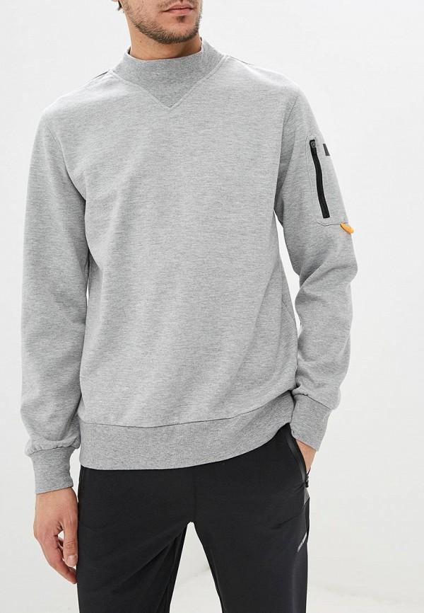 мужской свитшот icepeak, серый