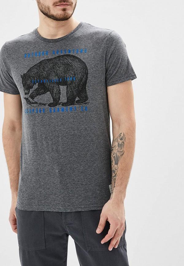 мужская спортивные футболка icepeak, серая