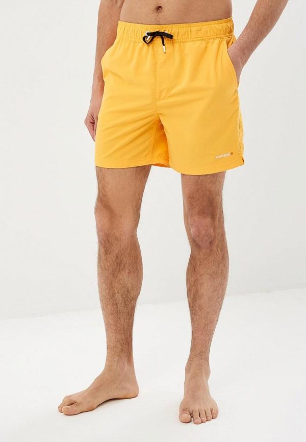 мужские спортивные спортивные шорты icepeak, оранжевые