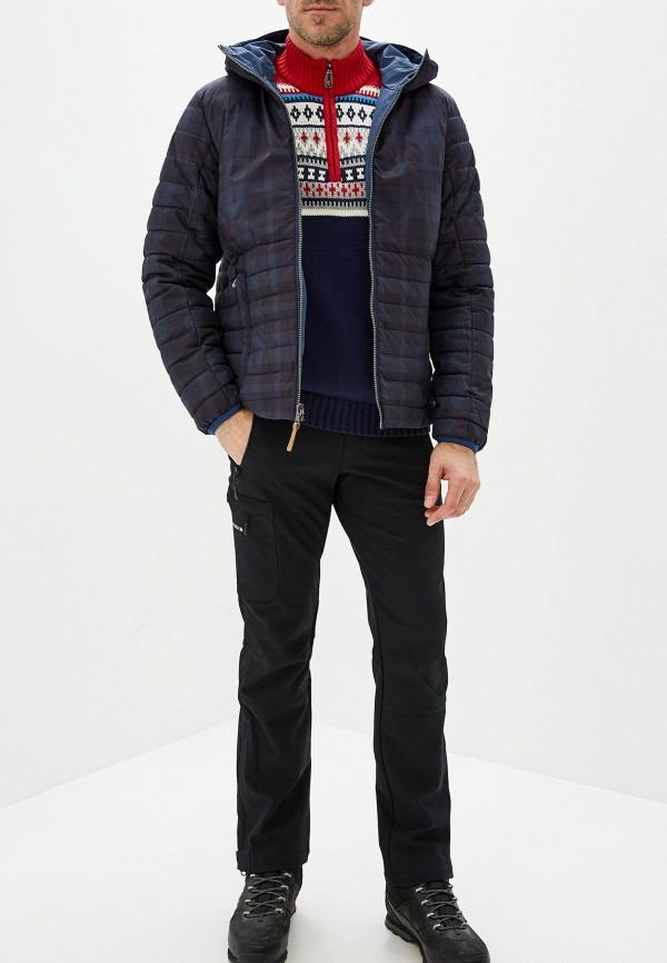 Фото 3 - Куртку утепленная Icepeak синего цвета