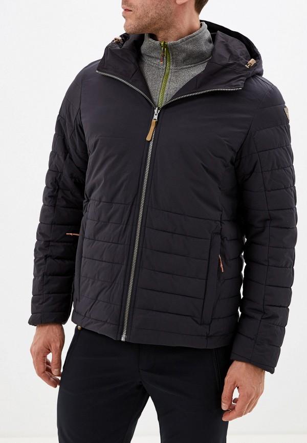 Фото 4 - Куртку утепленная Icepeak черного цвета