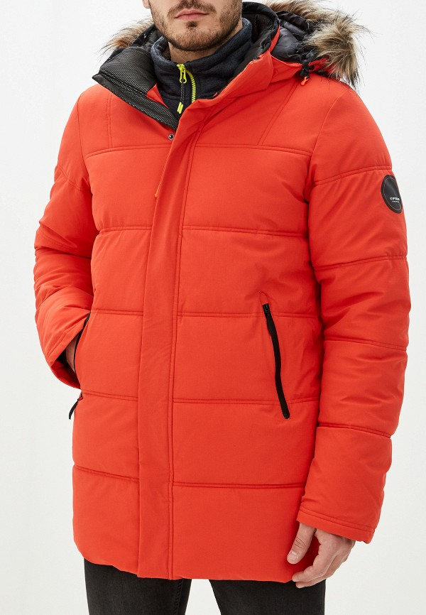 мужская куртка icepeak, оранжевая