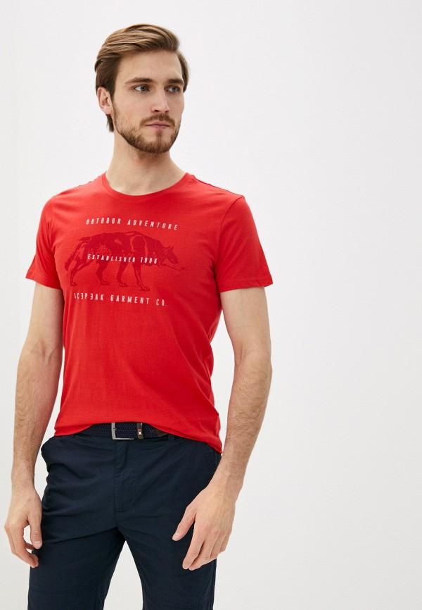 мужская спортивные футболка icepeak, красная